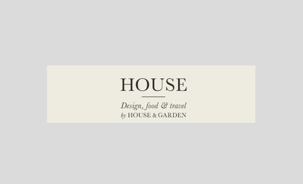 Sitting Down With House and Garden Magazine